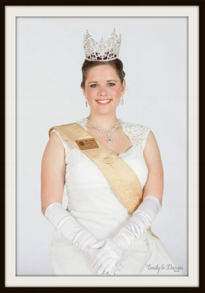 Abby (Brogger) Hoglin - 2014 Aurora, Queen of the Snows, St Paul Winter Carnival